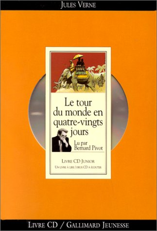 9782070507610: Le Tour du monde en quatre-vingts jours (1 livre + coffret de 2 CD)
