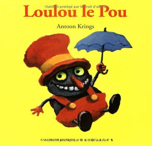 9782070510436: Loulou le Pou (Album grand format avec un magnet offert)