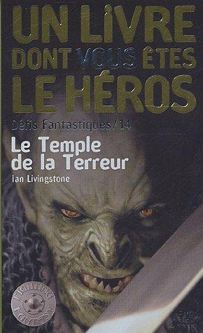 9782070511969: Défis fantastiques, Tome 14 : Le Temple de la Terreur