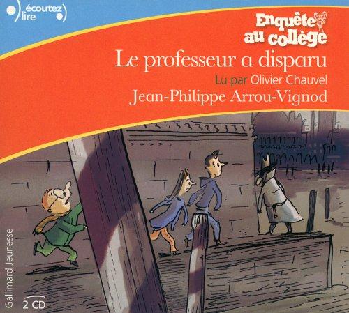 9782070512201: Enquête au collège : Le professeur a disparu [Livre Audio] (French Edition)