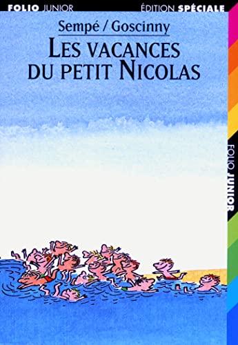 9782070513345: Les vacances du petit Nicolas (Collection folio Junior Edition spéciale)