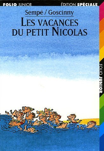9782070513345: Les vacances du petit nicolas (Folio Junior)