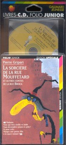 9782070516650: LA SORCIERE DE LA RUE MOUFFETARD. LIVRE AVEC CASSETTE