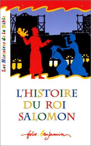 9782070521814: L'histoire du roi Salomon