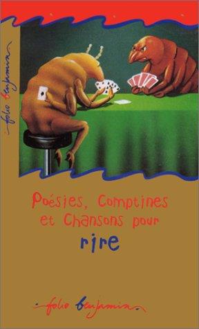 9782070522101: Poesies, comptines et chansons pour rire