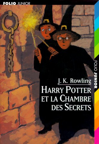 9782070524556: Harry Potter, Tome 2 : Harry Potter et la Chambre des Secrets (Folio Junior)