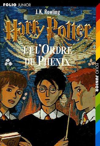 9782070525577: Harry Potter, Tome 5 : Harry Potter et l'Ordre du Phénix (Folio Junior)
