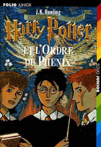 Harry Potter Et L'Ordre Du Phenix (French Edition) (2070525570) by J. K. Rowling