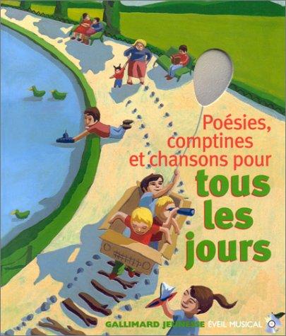 9782070535484: Poesies, Comptines et Chansons Pour Tous Les Jours (French Edition)
