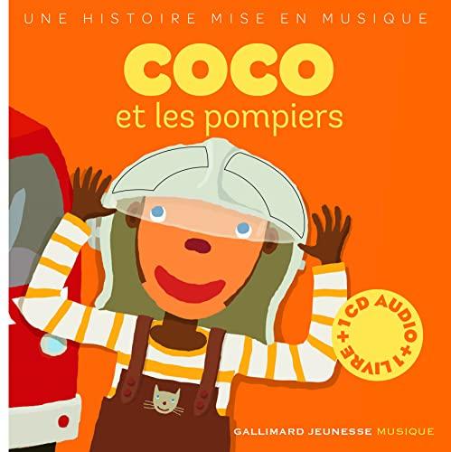 9782070535538: Coco et les Pompiers (livre-CD)