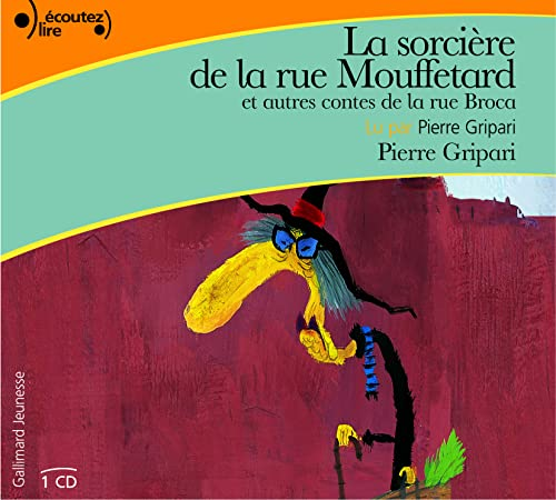 La sorciere de la rue Mouffetard et autres contes de la rue ; livre audio CD (French Edition): ...