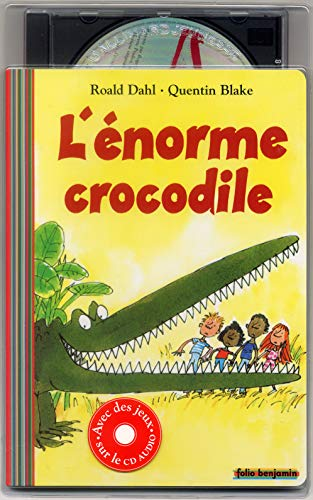 9782070535644: L'énorme crocodile. Avec CD Audio