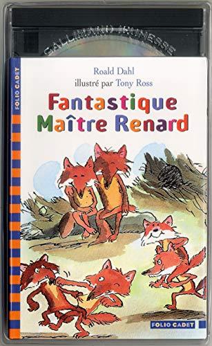 Fantastique Maître Renard (1 livre + 1 CD audio) (9782070535835) by Roald Dahl; Tony Ross; Christine Delaroche; Daniel Prévost; Marie Saint-Dizier; Raymond Farré
