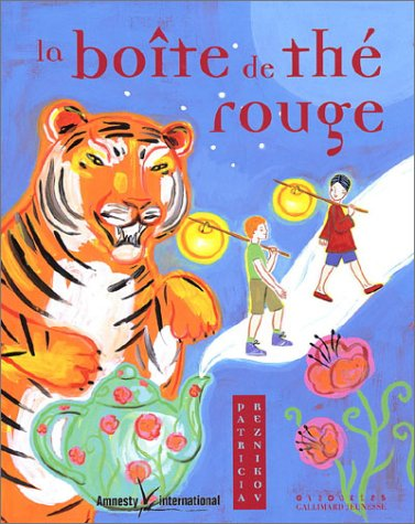 9782070538218: La Bo�te de th� rouge