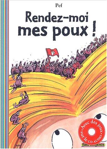 9782070538362: Rendez-Moi Mes Poux (Folio Benjamin)