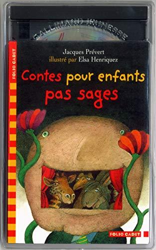 9782070538393: Contes pour enfants pas sages (1 livre + 1 CD audio)