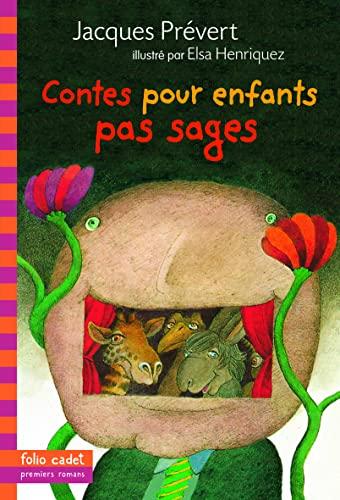9782070538850: Contes pour enfants pas sages (Folio Cadet premiers romans)