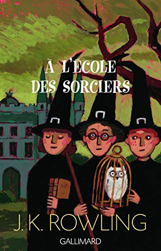 Harry Potter a l'ecole des sorciers (French: Joanne K. Rowling;