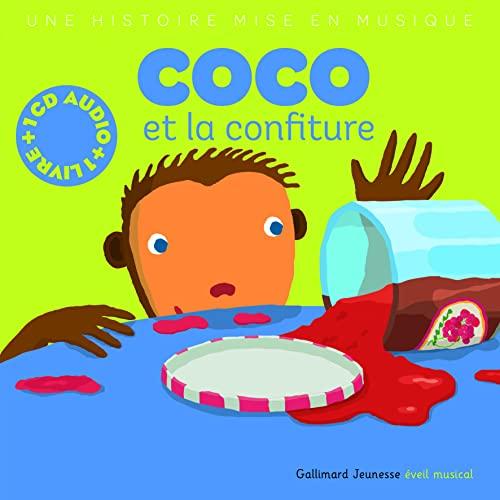 9782070543960: Coco et la Confiture (1 livre + 1 CD audio)