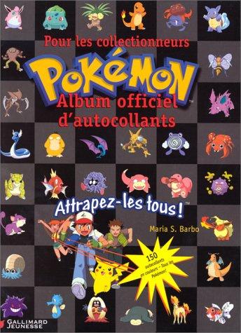 9782070544172: L'Album officiel d'autocollants Pokemon