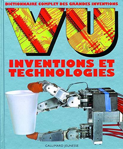 9782070544516: VU Inventions et technologies: Dictionnaire complet des grandes inventions