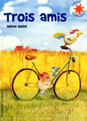 9782070547883: Trois amis (Livre + CD) (French Edition)
