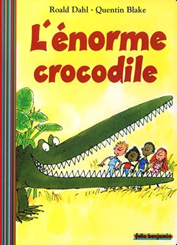 9782070548101: L'énorme crocodile (Folio Benjamin)