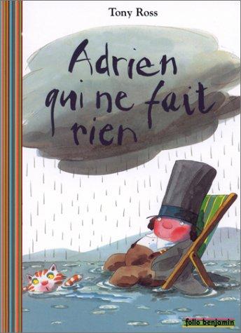 9782070548941: Adrien qui ne fait rien (Folio Benjamin)
