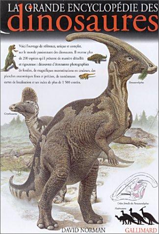 9782070549504: La Grande Encyclopédie des dinosaures
