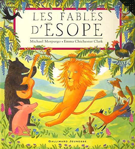 9782070550739: Les fables d'Esope