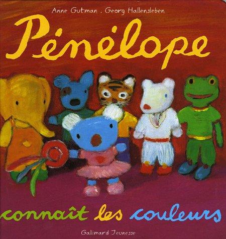 9782070550852: Pénélope tête en l'air, Tome 7 : Pénélope connaît les couleurs