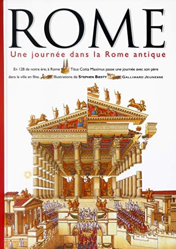 Rome: Une journée dans la Rome antique (9782070552238) by Andrew Solway; Stephen Biesty