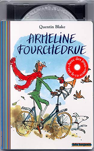 9782070553624: Armeline fourchedru (1livre + 1 CD audio)