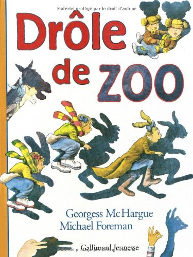 9782070555086: Drole de zoo (French Edition)