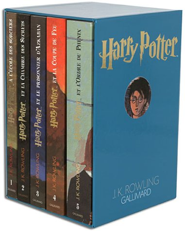 9782070556878: Harry Potter, coffret 5 volumes : Tome 1 à tome 5
