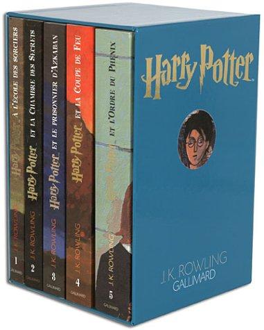 9782070556878: Harry Potter, coffret 5 volumes : Tome 1 à tome 5
