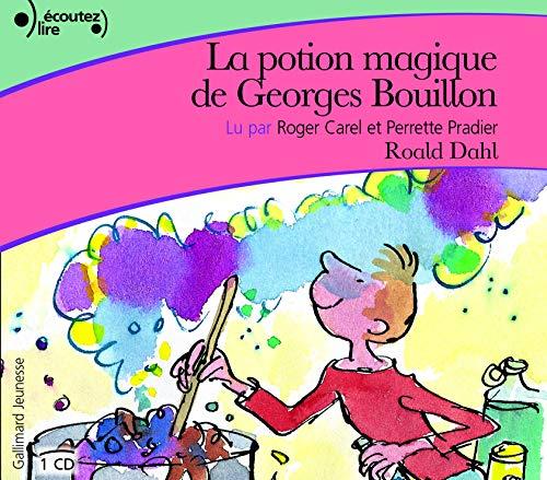 9782070558155: La Potion Magique de Georges Bouillon Livre audio CD (French Edition)