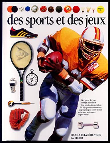 Des sports et des jeux (French Edition): Hammond, Tim, Kindersley,