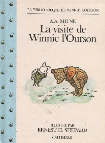 9782070565634: La visite de Winnie l'ourson
