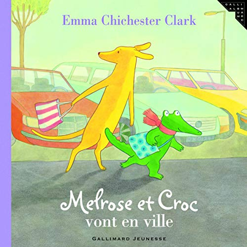 9782070573882: Melrose et Croc vont en ville (French Edition)