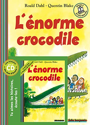9782070574186: L'énorme crocodile (Livres audio Benjamin - Livres-CD)