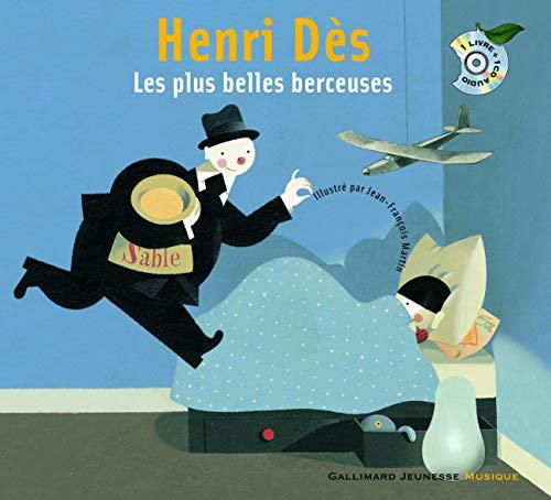 9782070575688: Les plus belles berceuses d'Henri Dès. incl.CD (French Edition)