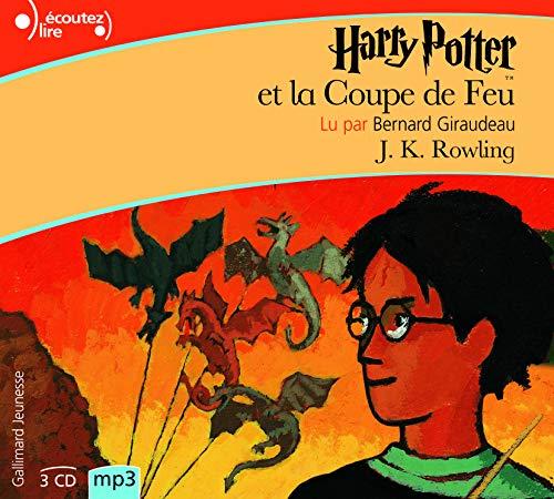 9782070578245: Harry Potter, IV : Harry Potter et la Coupe de Feu [Livre Audio] [MP3 CD] (French Edition)