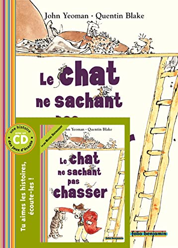 9782070578382: Le chat ne sachant pas chasser (French Edition)