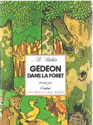 9782070580866: Gédéon dans la forêt