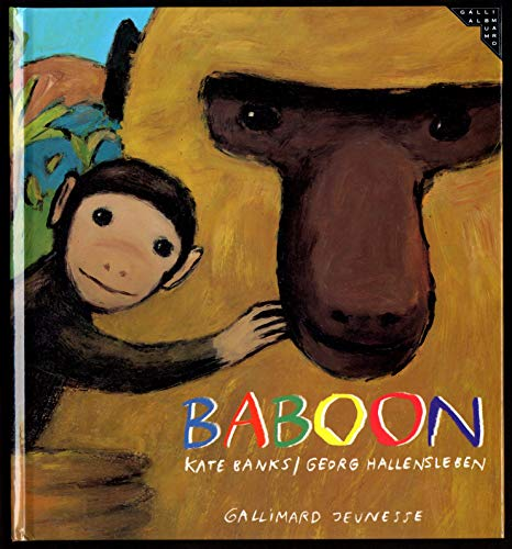 9782070586592: Baboon (Albums Gallimard Jeunesse)