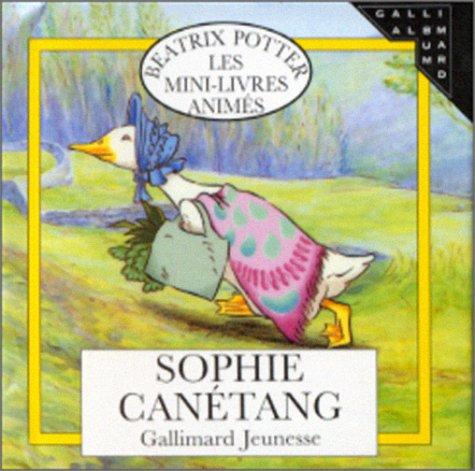 9782070590810: Sophie Canétang (mini livre animé)