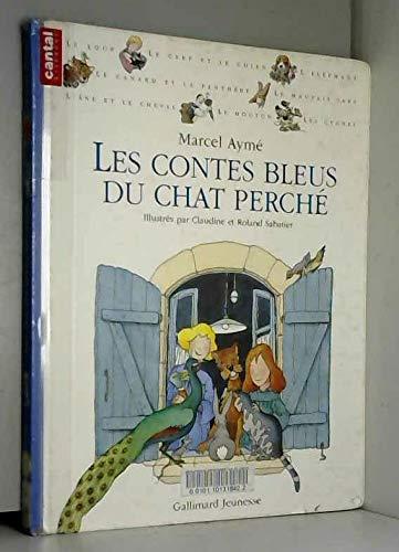 9782070591978: Les contes bleus du chat perché (Alb Jeunesse Arts)