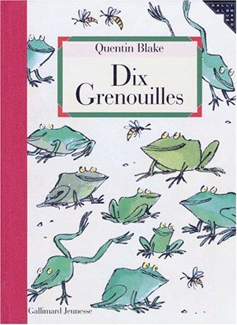 9782070596935: Dix grenouilles