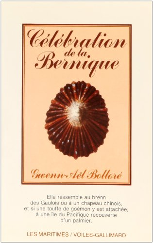 9782070600960: Célébration de la Bernique